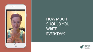 How Much Should You Write Everyday_cover