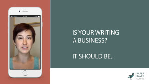 Is your writing a business_it should be_cover