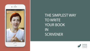 The simplest way to write your book in Scrivener_cover