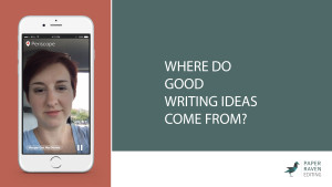 Where do good writing ideas come from_cover