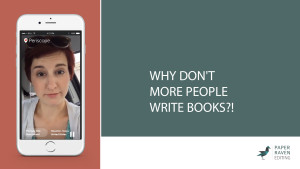 Why don't more people write books_cover