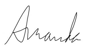 Amanda's Signature