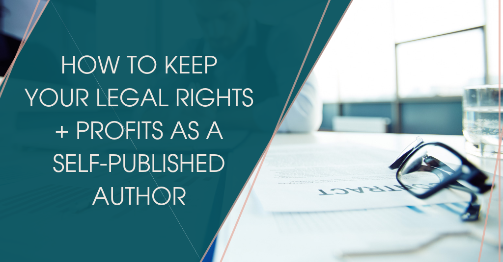 Keep your rights and profits image with a contract and eyeglasses